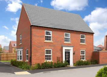 "Thumbnail 4 bedroom detached house for sale in ""Cornell"" at Ventura Park Road, Bitterscote, Tamworth"