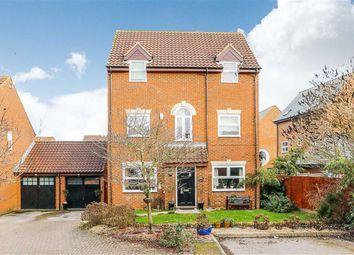 Thumbnail 4 bedroom detached house for sale in Welbeck Close, Monkston, Milton Keynes, Bucks