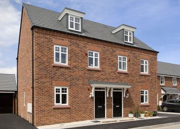 "Thumbnail 3 bedroom semi-detached house for sale in ""Nugent"" at Whites Lane, New Duston, Northampton"