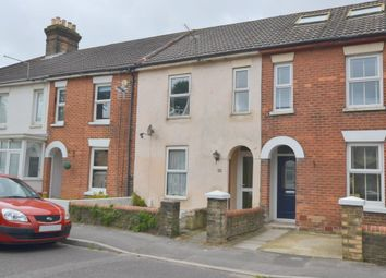 Thumbnail 3 bed terraced house for sale in Victoria Road, Parkstone, Poole