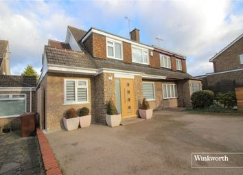 Thumbnail 4 bedroom semi-detached house for sale in Chandos Road, Borehamwood, Hertfordshire