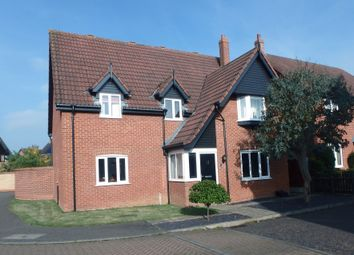 Thumbnail 4 bedroom detached house for sale in Foxglove Drive, Dereham