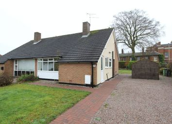 Thumbnail 2 bed semi-detached bungalow for sale in Grove Gardens, Market Drayton