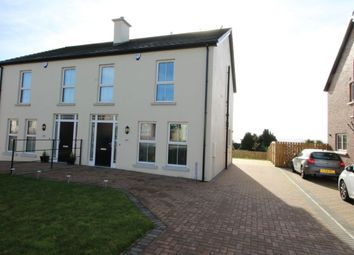 Thumbnail 3 bed semi-detached house for sale in Marlborough Manor, North Road, Carrickfergus