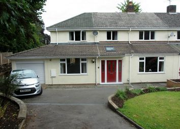 Thumbnail 4 bed semi-detached house for sale in The Avenue, Tiverton