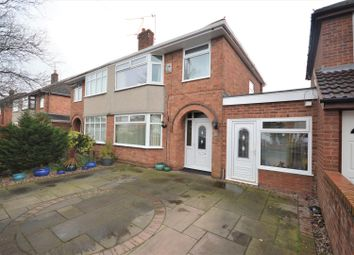 Thumbnail 3 bed semi-detached house for sale in Pine Grove, Whitby, Ellesmere Port