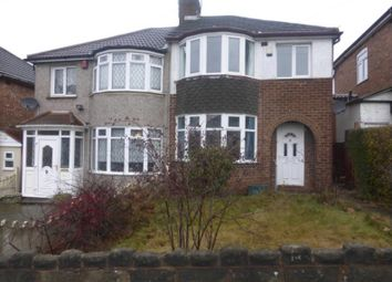 Thumbnail 3 bed semi-detached house to rent in Coleraine Road, Great Barr, Birmingham, West Midlands
