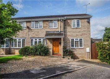 Thumbnail 3 bed semi-detached house for sale in Swallow Close, Buckingham