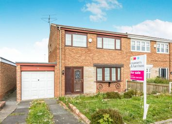 Thumbnail 3 bed semi-detached house for sale in Formby Close, Hartlepool