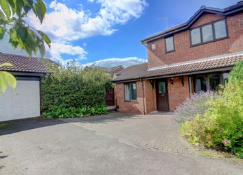 Thumbnail 3 bed detached house for sale in Trenance Close, Lichfield