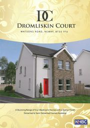 Thumbnail 3 bed semi-detached house for sale in Dromliskin Court, Watsons Road, Newry
