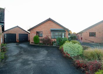 Thumbnail 2 bed detached bungalow for sale in Garbet Close, Wem, Shrewsbury