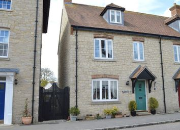 Thumbnail 3 bed semi-detached house for sale in Walnut Road, Mere, Warminster