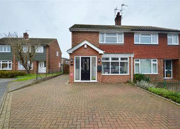 Thumbnail 3 bed semi-detached house for sale in Westfield Close, Gravesend