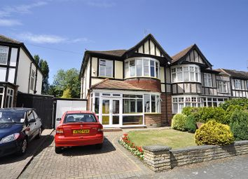 Thumbnail 3 bed semi-detached house for sale in Deane Croft Road, Eastcote, Pinner