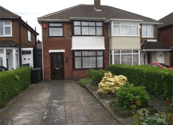 Thumbnail 3 bedroom semi-detached house for sale in Selworthy Road, Castle Bromwich, Birmingham