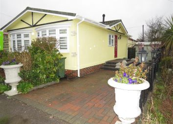 Thumbnail 2 bed mobile/park home for sale in Dome Caravan Park, Lower Road, Hockley