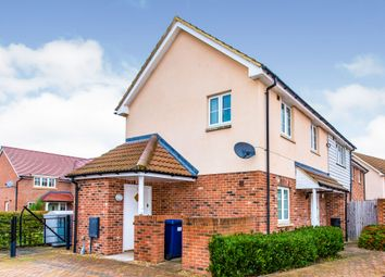 Thumbnail 1 bed flat for sale in Paddock Close, St Neots