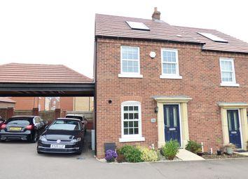 Brocklehurst Road, Kempston, Bedford MK42. 3 bed semi-detached house