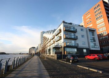 Thumbnail 2 bed flat to rent in Meadowside Quay Walk, Glasgow