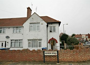 Thumbnail 3 bed end terrace house for sale in Review Road, Neasden, London