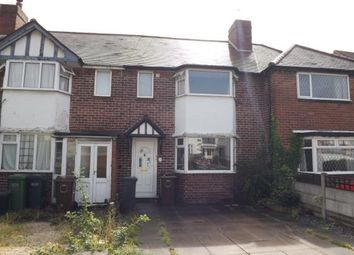 Thumbnail 3 bed terraced house for sale in Howard Road, Solihull, West Midlands