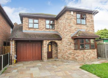 Thumbnail 4 bed detached house for sale in Laburnum Grove, Canvey Island