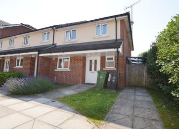 Thumbnail 3 bedroom end terrace house to rent in Cromwell Road, Camberley