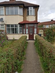 Thumbnail 4 bed semi-detached house to rent in Cedar Avenue, Enfield