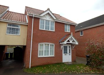 Thumbnail 3 bed semi-detached house to rent in Pollywiggle Close, Norwich