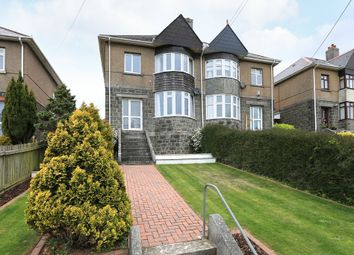 Thumbnail 3 bedroom semi-detached house for sale in Radford Park Road, Plymstock, Plymouth