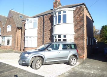 Thumbnail 2 bed semi-detached house for sale in Windsor Road, Bricknell Avenue, Hull