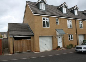 Thumbnail 3 bedroom end terrace house to rent in Batavia Drive, Exeter