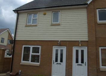 Thumbnail 3 bed end terrace house to rent in Albert Gardens, Luton