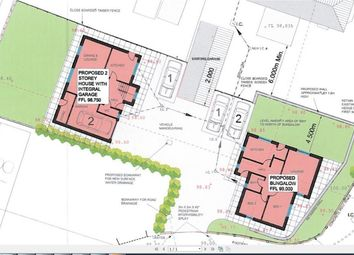 Thumbnail Land for sale in 2 Building Plots - Windmill Close, Bolsover
