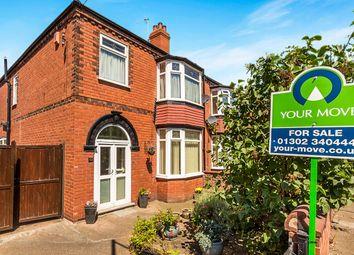 Thumbnail 3 bed semi-detached house for sale in Sandbeck Road, Bennetthorpe, Doncaster
