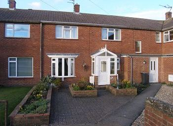 Thumbnail 3 bed terraced house to rent in Westleigh, Warminster, Wiltshire