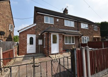 Thumbnail 3 bed semi-detached house for sale in Penine Way, Knutton, Newcastle