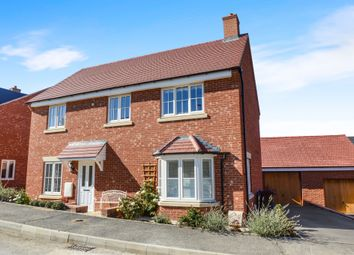 Thumbnail 4 bed detached house for sale in Coleridge Way, Market Harborough