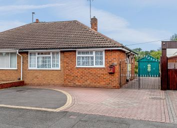Thumbnail 2 bed semi-detached bungalow for sale in Eaton Crescent, Dudley