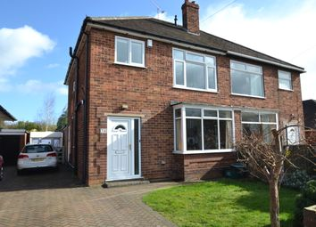 Thumbnail 3 bedroom semi-detached house for sale in Bowlease Gardens, Bessacarr, Doncaster