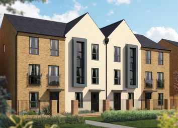 "Thumbnail 4 bedroom town house for sale in ""The Harrogate"" at Limousin Avenue, Whitehouse, Milton Keynes"