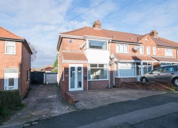 Thumbnail 2 bed end terrace house to rent in Nuthurst Road, Birmingham