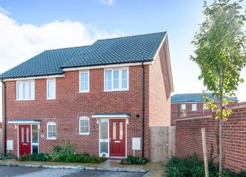 Thumbnail 2 bed property for sale in Brooke Way, Stowmarket