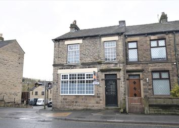 Thumbnail 3 bed end terrace house for sale in Albion Road, New Mills, High Peak