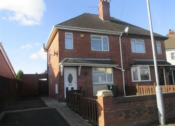 Thumbnail 2 bed semi-detached house to rent in Central Avenue, Tipton