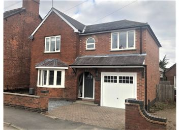 Thumbnail 4 bed detached house for sale in Church Lane, Coalville