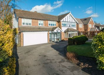Thumbnail 5 bed detached house for sale in Eyebrook Road, Bowdon, Altrincham