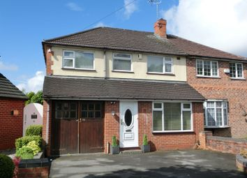 Thumbnail 5 bedroom semi-detached house for sale in Hurdis Road, Shirley, Solihull