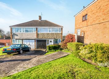 Thumbnail 3 bed semi-detached house for sale in Whitehall Drive, Dudley